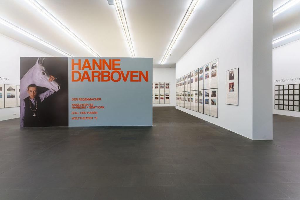 VIRTUELL ERÖFFNET: HANNE DARBOVEN IM MUSEUM KÜPPERSMÜHLE